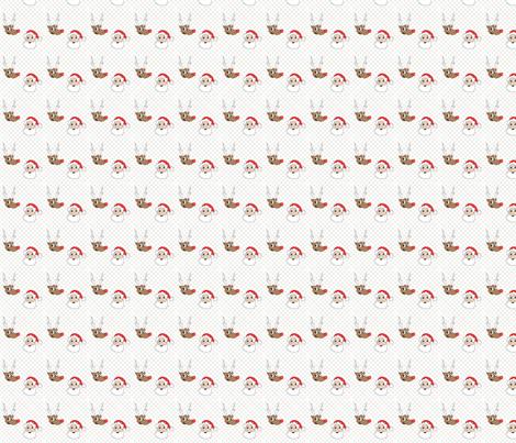 UglySweaterSanta fabric by samfreitas687 on Spoonflower - custom fabric