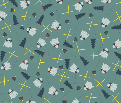 retro_ski fabric by tnixon on Spoonflower - custom fabric