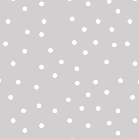 polka dot white on gray wallpaper pencilmein spoonflower