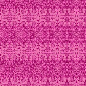 Mille Fleur/Magenta/Pink