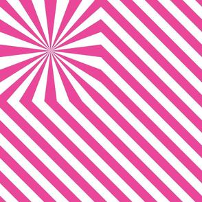 Stripes explosion - Pink