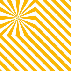 Stripes explosion - Yellow