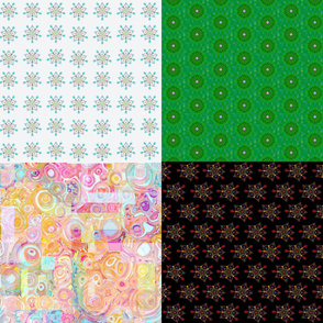 night and day fat quarter sampler