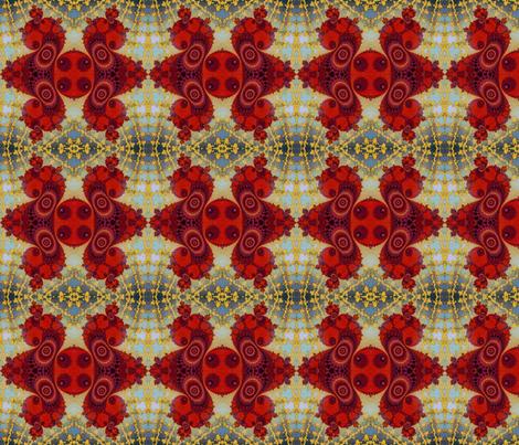 Fractal Swirls  fabric by elramsay on Spoonflower - custom fabric