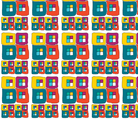 Boxy Check fabric by moxieart on Spoonflower - custom fabric