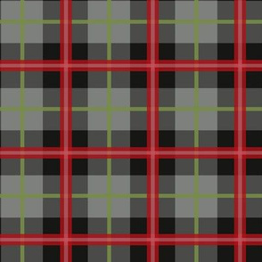 Tartan Coordinate Red