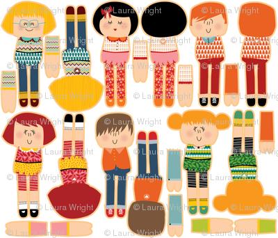 cut and sew dolls