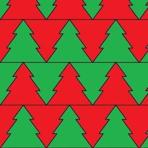 christmas tree chevron