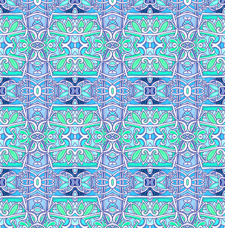 Take Me To Your Guru  fabric by edsel2084 on Spoonflower - custom fabric