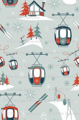 Vintage Ski Gondolas (Classic)