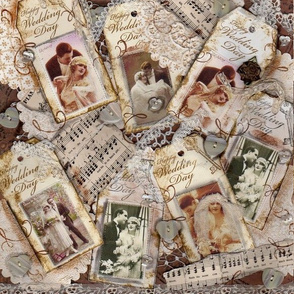 Victorian Wedding Collage
