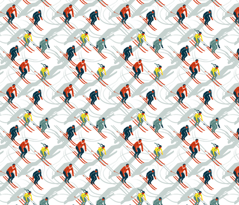 Ski Carnival 3 fabric by vinpauld on Spoonflower - custom fabric