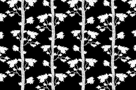 tree stripe white fabric by keweenawchris on Spoonflower - custom fabric