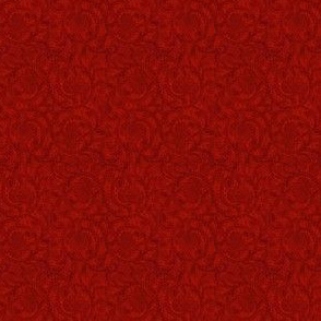 Rouba's Red Brocade