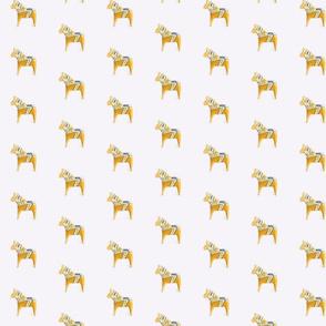 Dala Horse Golden