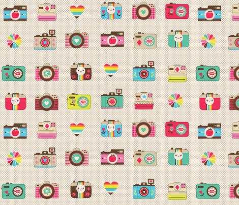 happy memories fabric by teamkitten on Spoonflower - custom fabric