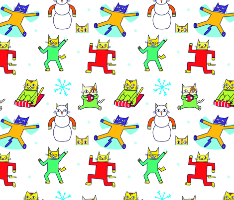 Catwrap fabric by illseabass on Spoonflower - custom fabric