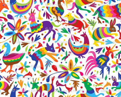 Mexico Springtime:  Multi Bright (Large Scale)