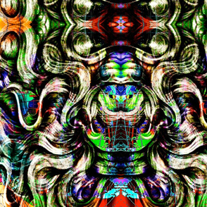 whirled and swirled