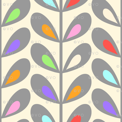 Creamsicle leaves
