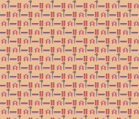 Old Cupric Farm fabric by siya on Spoonflower - custom fabric