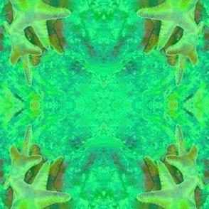 Falling Starfish