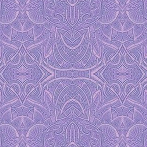 Made in the Shade Faux Brocade (lavender)