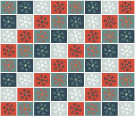 ski fabric by erijoyjoy on Spoonflower - custom fabric