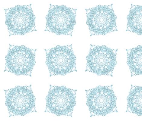 Snowflake 002 fabric by pange on Spoonflower - custom fabric