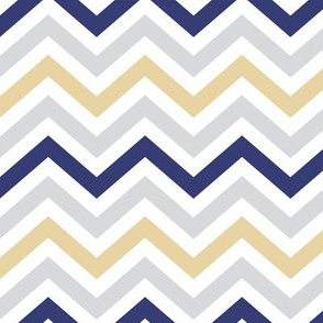 Purple and Gold Chevrons (pale)