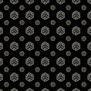 Black and Creme d20