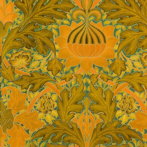 William Morris ~ Growing Damask ~ Florida Room