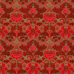 William Morris ~ Growing Damask ~ Christmas in London
