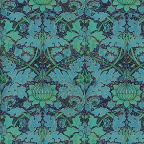 William Morris ~ Growing Damask ~ Night Garden