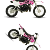 Dirt Bikes- Pink N Black Girly Moto Dirt Bikes
