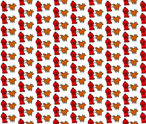 Pee-Break Giftwrap fabric by skippyfantastic on Spoonflower - custom fabric