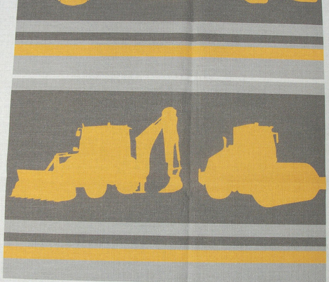 Boys toys grey yellow stripe