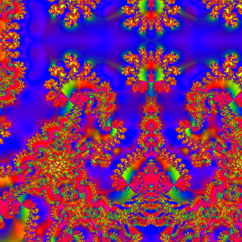 Fractal 46 fabric by anneostroff on Spoonflower - custom fabric