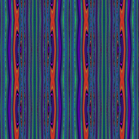 HOT_MOLTEN_GALSS VOLCANO Uncommon stripes CHLOROPHYLLE BLACKCURRANT fabric by paysmage on Spoonflower - custom fabric
