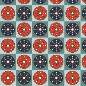Snowflake Checkerboard (Classic)