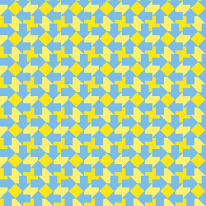 Blue Yellow Tesselation