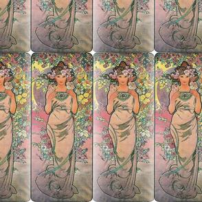 Alfons Mucha Die Rose