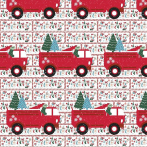 Mittesn Party Fire Truck Template Large