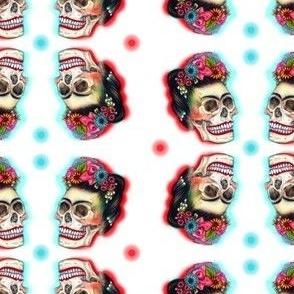 MiaSnow Frida Skull Pattern
