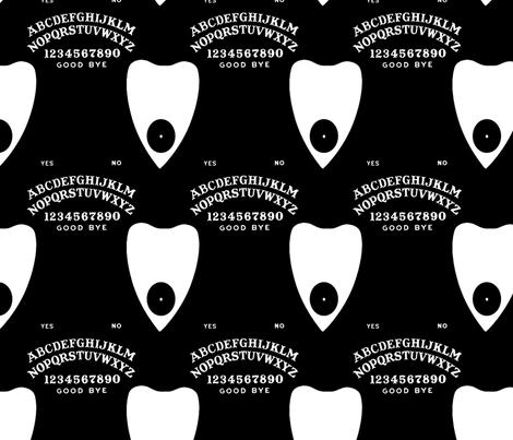 Talking Board fabric by slickandhisruin on Spoonflower - custom fabric