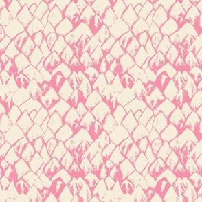 Protea Petals in Pink and Cream