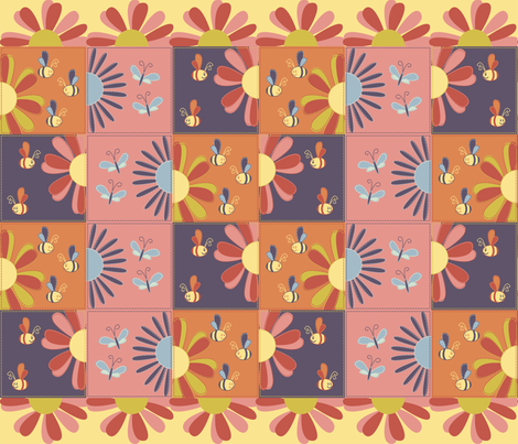 SPRING_QUILT fabric by tat1 on Spoonflower - custom fabric