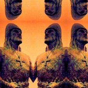 Leif Erickson burnished