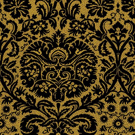 Rococo Serpentine 1h fabric by muhlenkott on Spoonflower - custom fabric