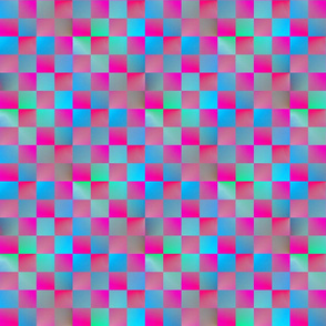 Plasma Checkerboard 1""
